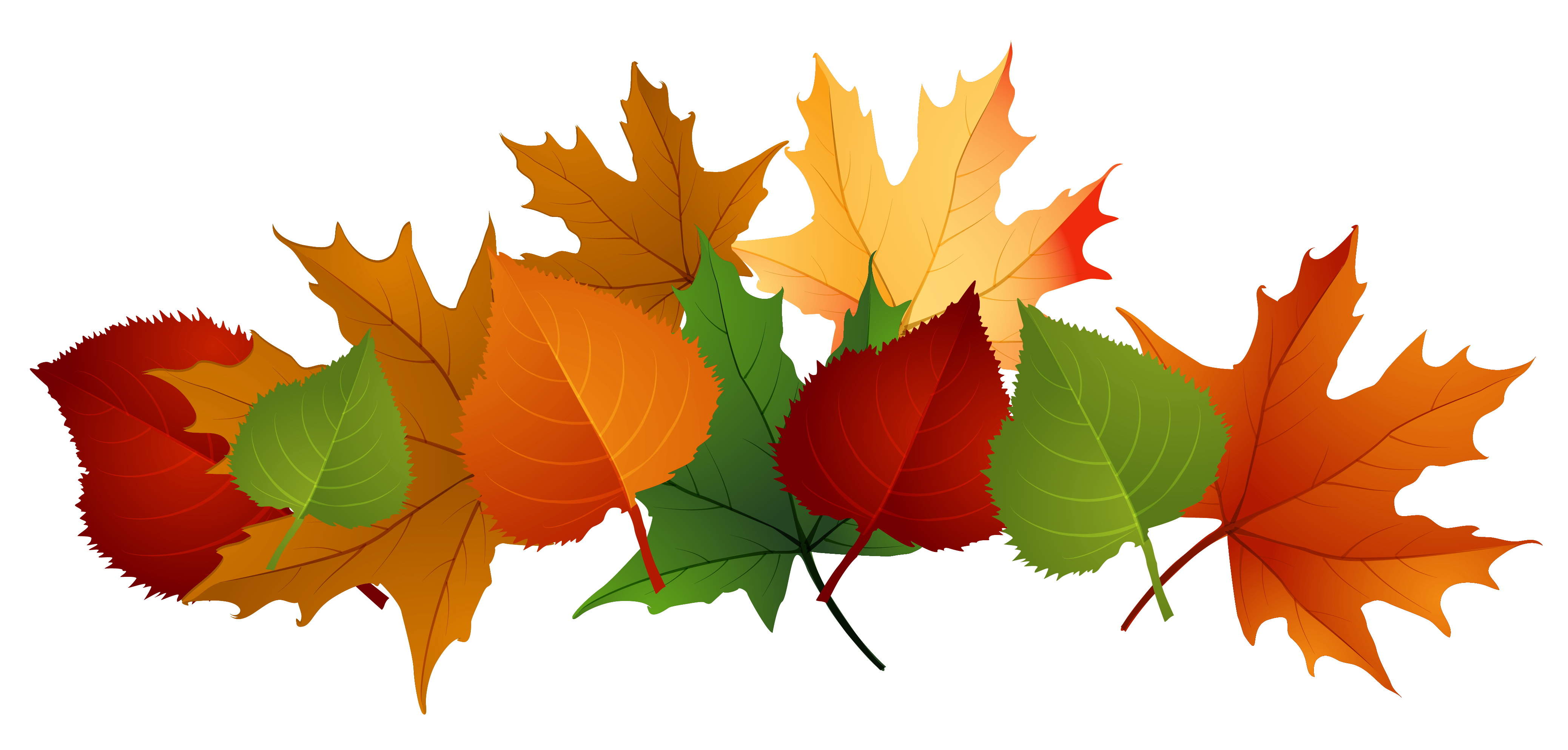 Fall leaves fall clip art . - Autumn Leaves Clip Art