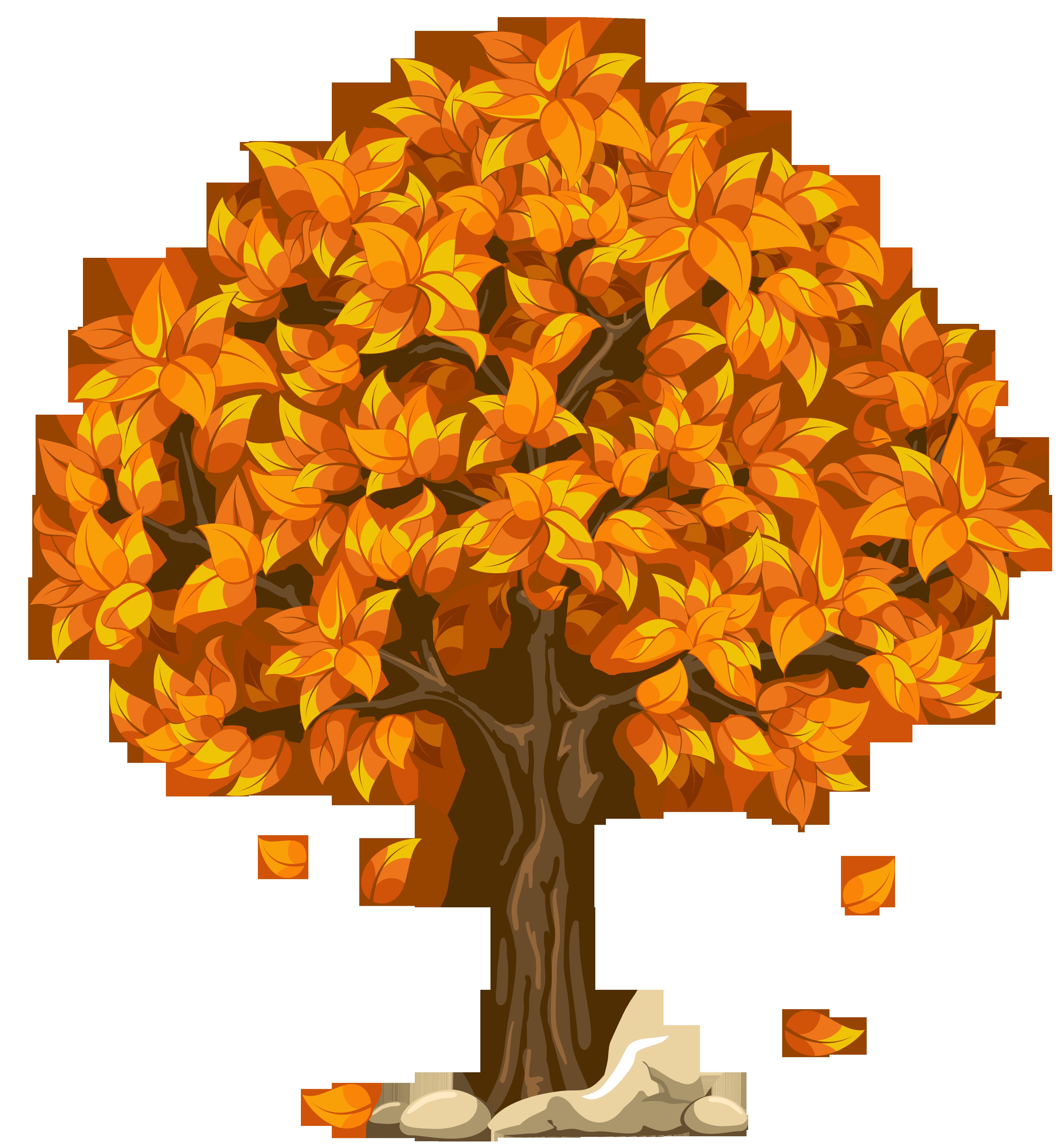 Fall Tree Clipart-Fall Tree Clipart-9