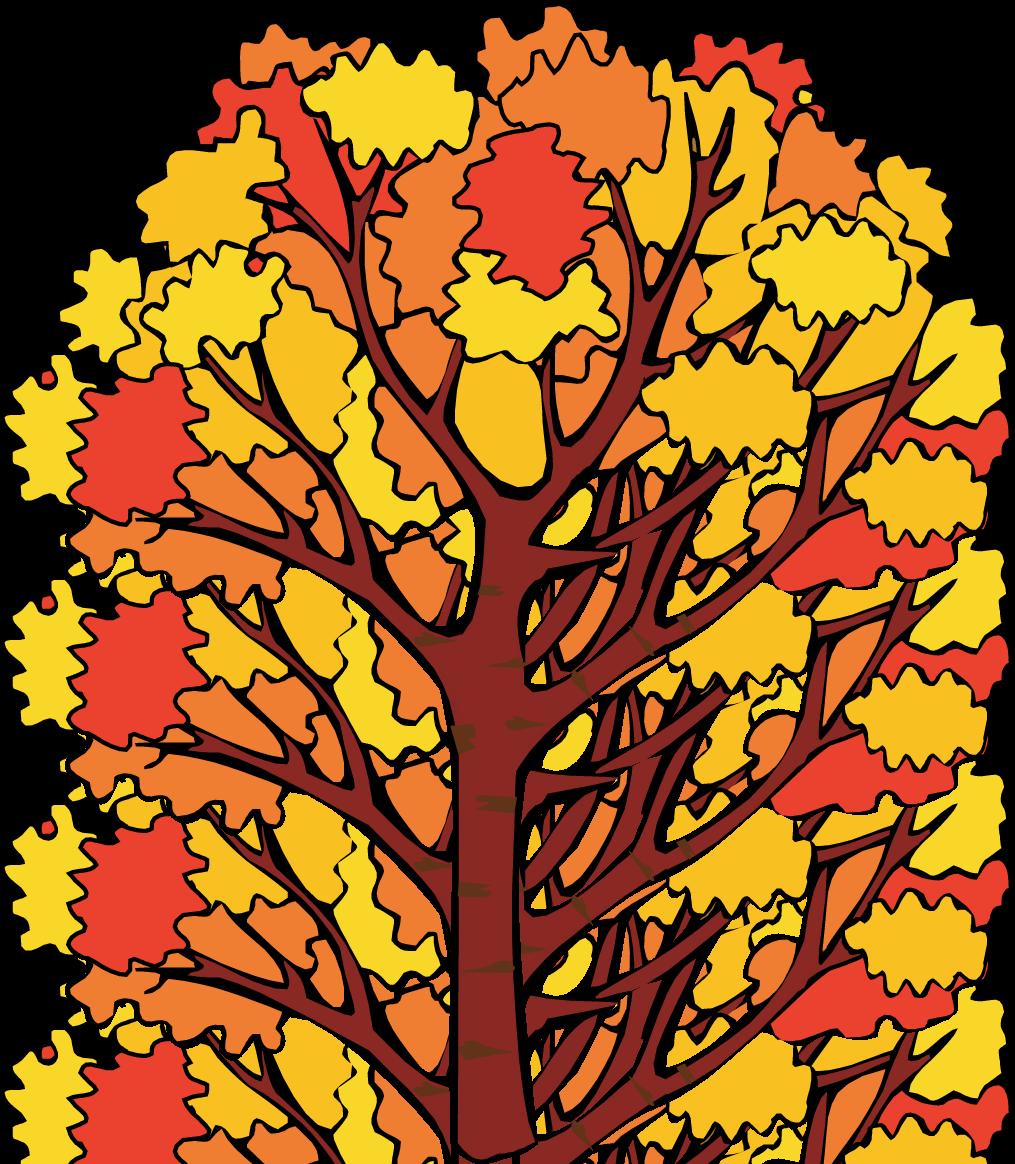 fall tree clipart
