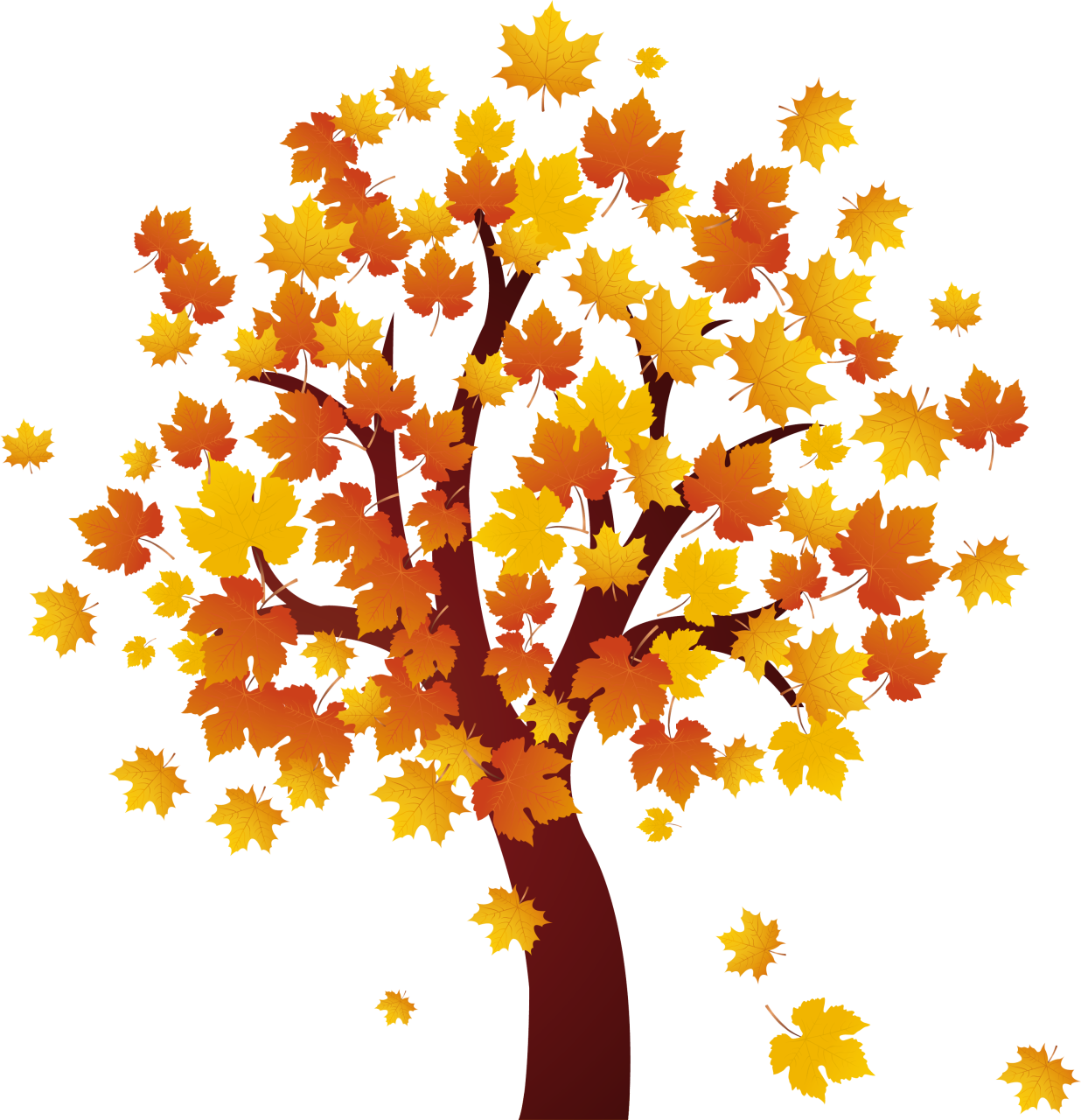 Fall Tree Clipart Free