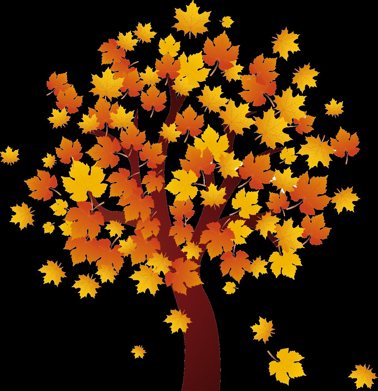Fall Tree Clipart Free