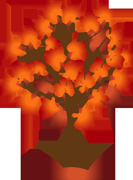 Fall Trees Clip Art - .-Fall trees clip art - .-16