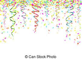 ... falling confetti - fallin - Confetti Clipart