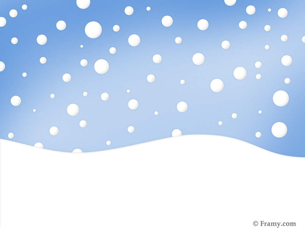 Falling Snowflakes Background - Snow Clip Art