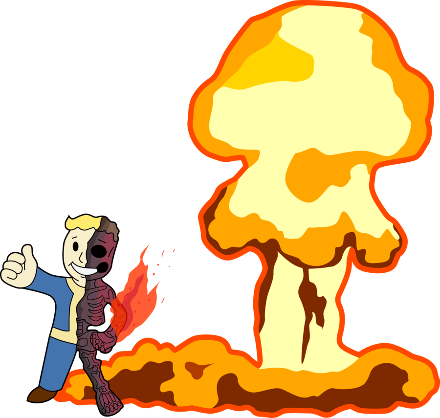 Fallout Clipart silhouette