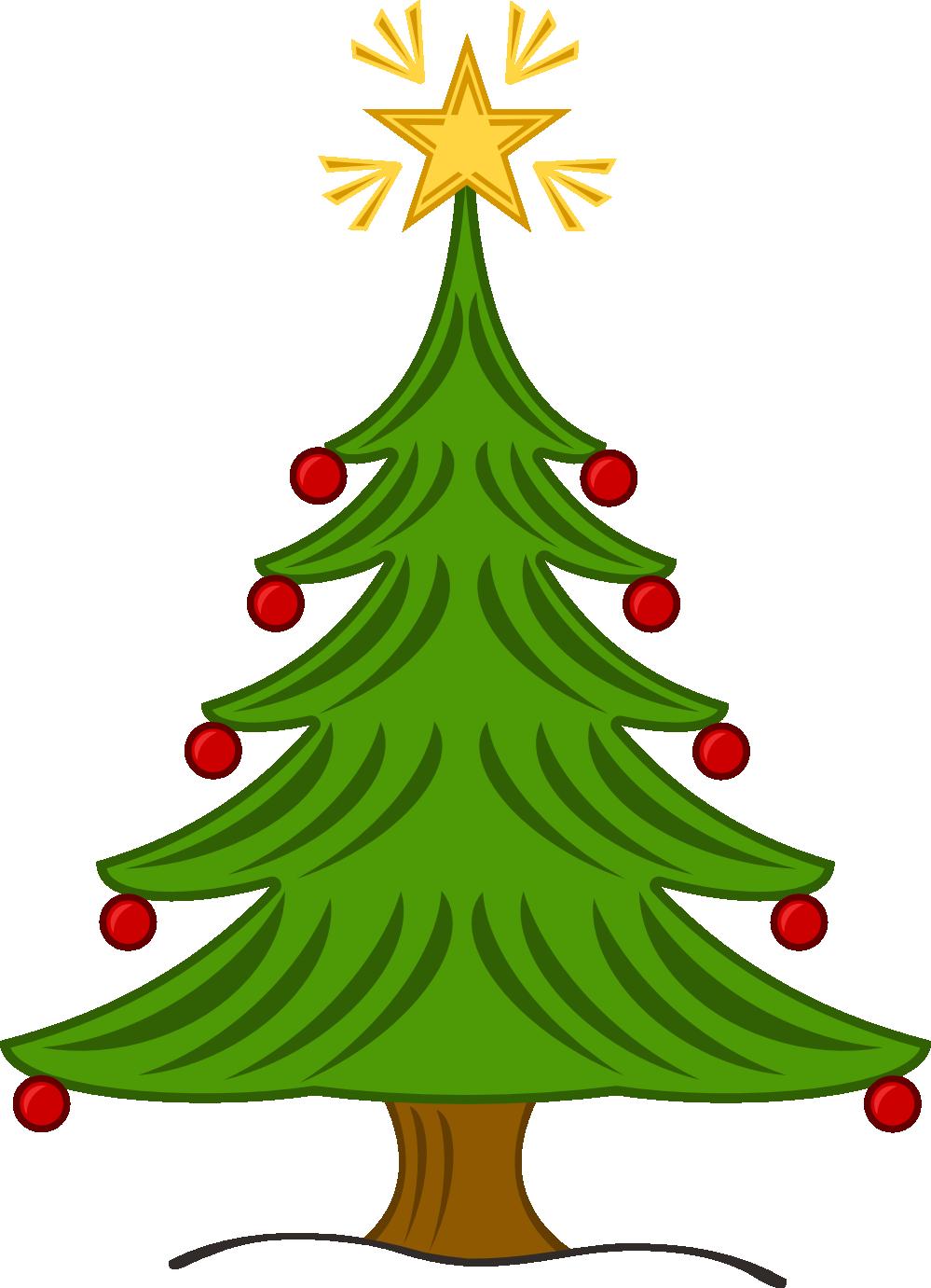 Family Christmas Tree Clip Art ..