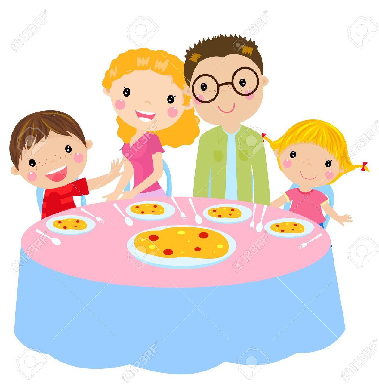 Family Dinner Table: Family .-family dinner table: family .-4