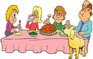 Family Eating Dinner Clipart-Family Eating Dinner Clipart-7