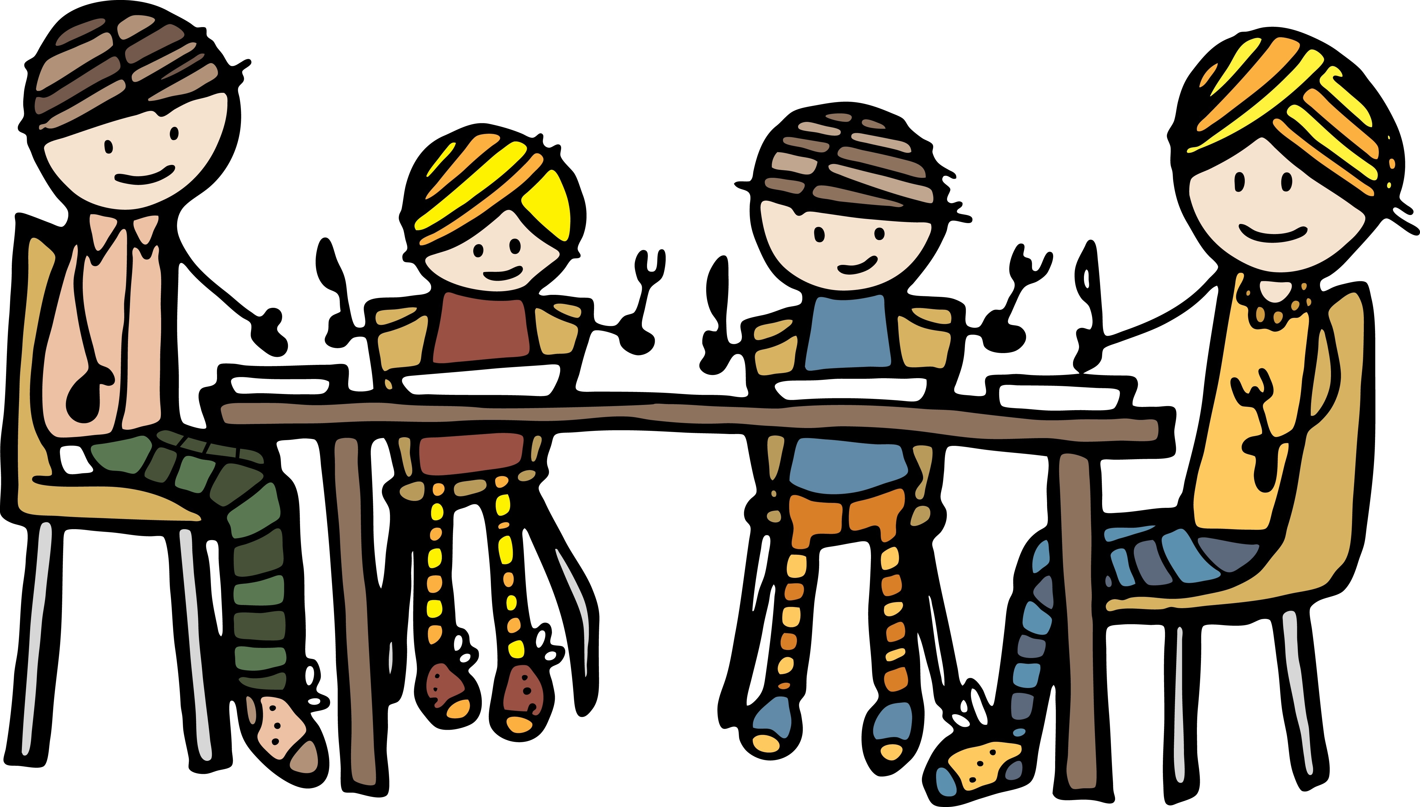 Family Eating Dinner Together .-Family Eating Dinner Together .-9