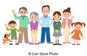 Family illustrations and clipart (146,47-Family illustrations and clipart (146,472)-9