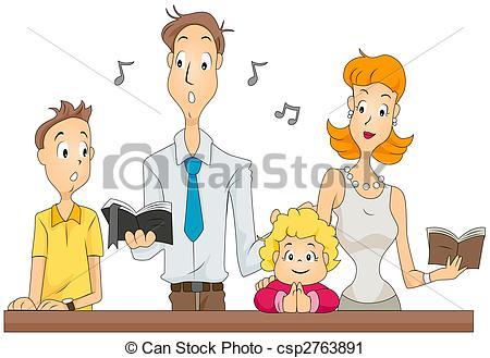 ... Family Mass - Family Attending Massw-... Family Mass - Family attending Masswith Clipping Path-3