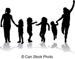 ... Family silhouette
