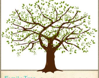 Family tree clip art tree clipart image