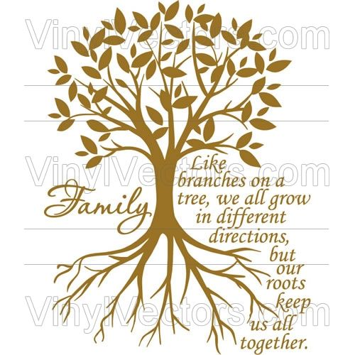 Family Tree Clipart | ... branches on a tree, we all grow in