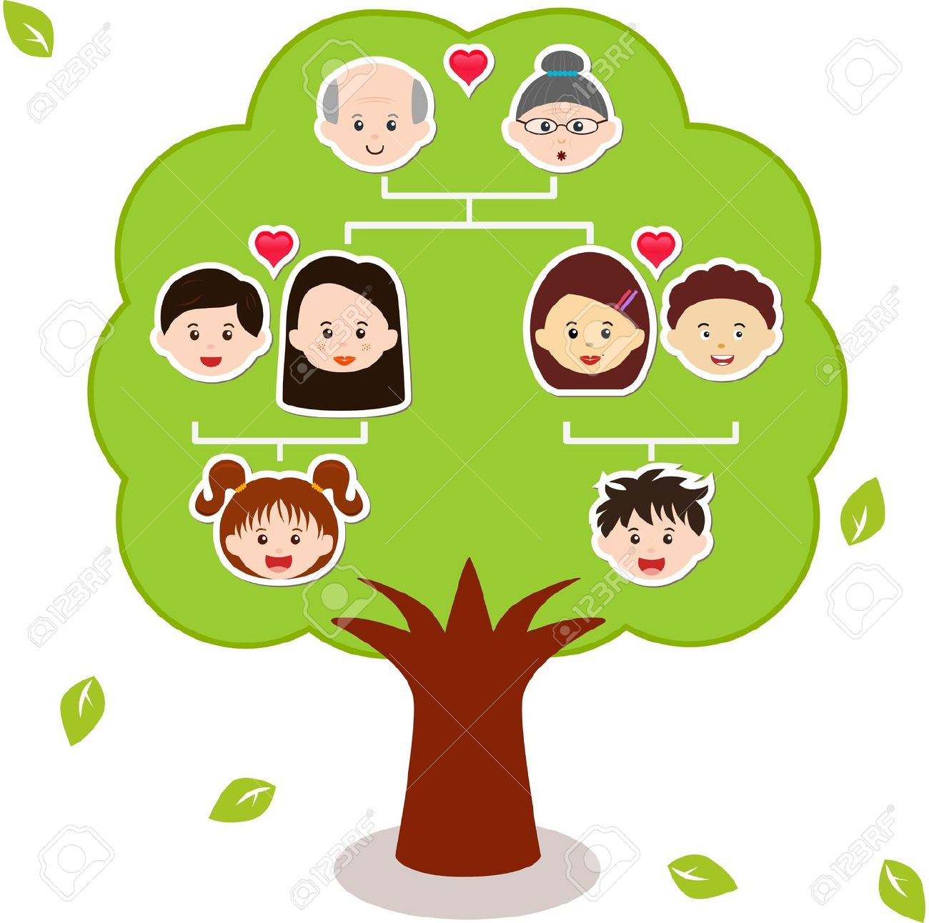 family tree: Icons Family Tree .