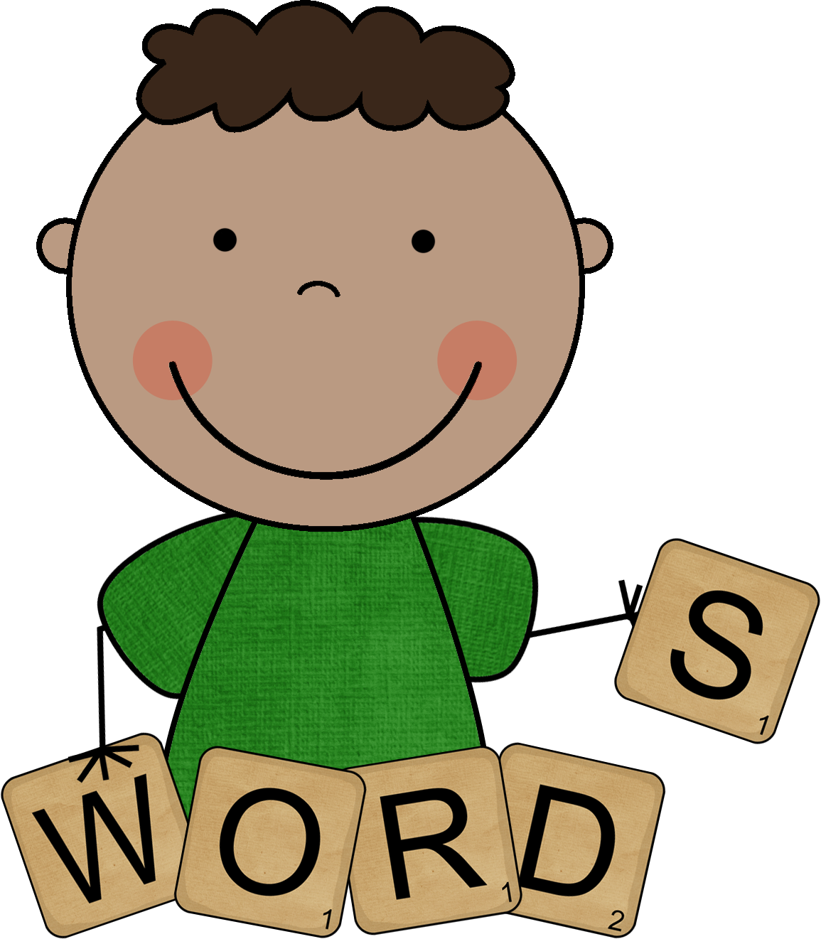 Family Word Clipart Clipart P - Words Clipart