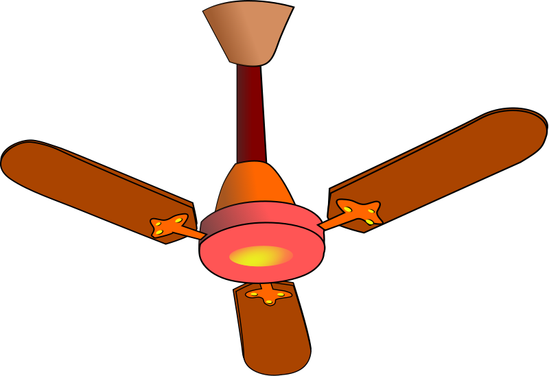 fan clipart - Ceiling Fan Clipart