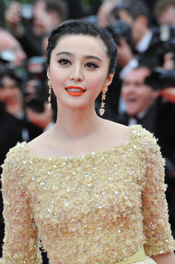 CANNES, FRANCE - MAY 16, 2013: Fan Bingbing at the gala premiere of Young u0026  Beautiful (Jeune u0026 Jolie) in competition at the 66th Festival de Cannes.