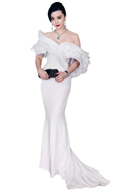 Download PNG image - Fan Bingbing Clipart 351