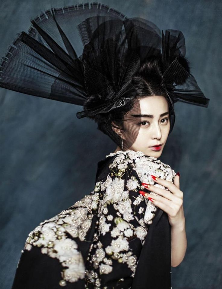 Racing Fashion: Fan Bingbing by Chen Man for Marie Claire China January 2015