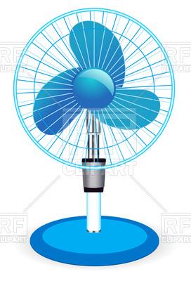 Table fan, 75075, download royalty-free vector vector image ClipartLook.com
