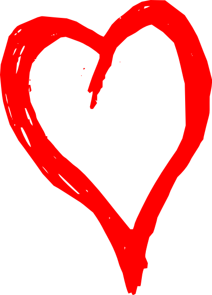 Fancy Red Heart Clipart | Clipart library - Free Clipart Images