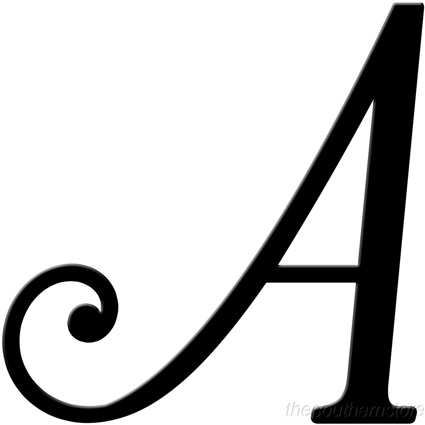 Fancy Script Letters 18 .