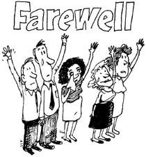 Farewell Luncheon Clipart - Farewell Clip Art