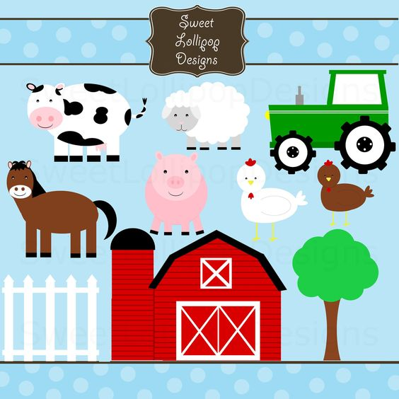 FARM ANIMAL FREE PRINTABLES | - Free Farm Animal Clipart
