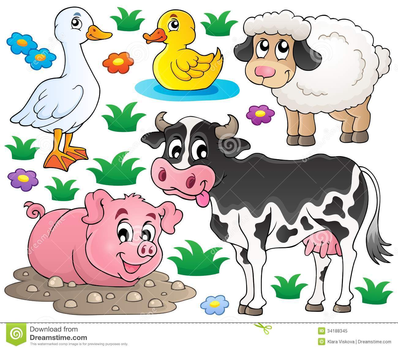 FARM ANIMAL FREE PRINTABLES |