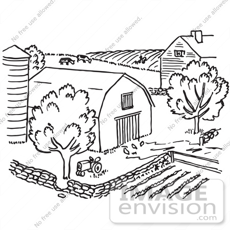Farm Fields Clipart Black And White Cbrp-Farm Fields Clipart Black And White Cbrp Farm Clipart Black And White-15