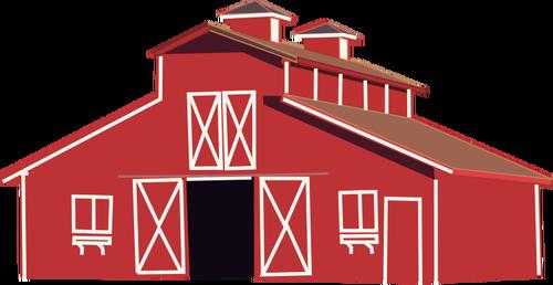 Farm house vector clip art-Farm house vector clip art-18