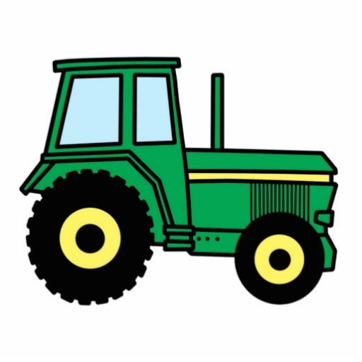 Farm Tractor Clip Art | Cartoon Clip Art-Farm Tractor Clip Art | Cartoon Clip Art Green Farmer Tractor Truck Photo Cut Outs from-0