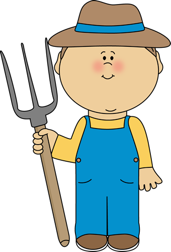 Farmer Boy - Farming Clipart
