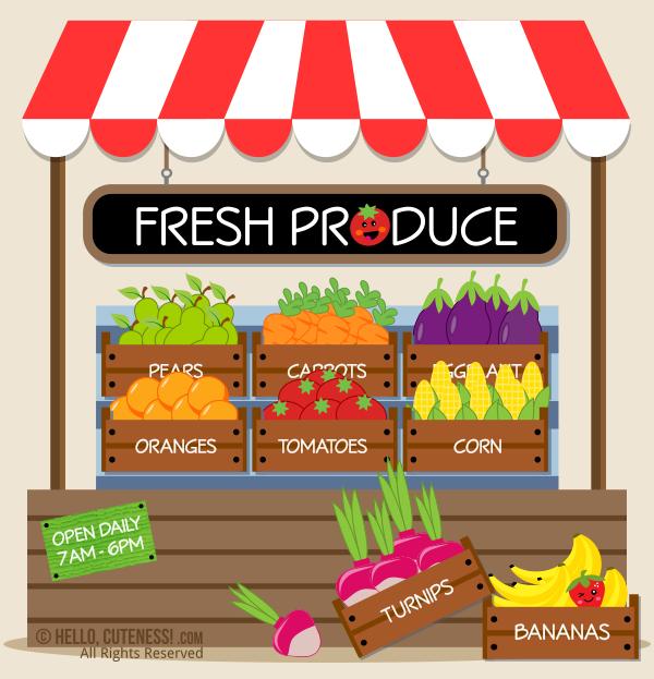 Farmers Market Clip Art