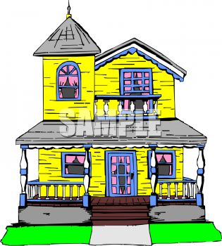 farmhouse clipart-farmhouse clipart-16