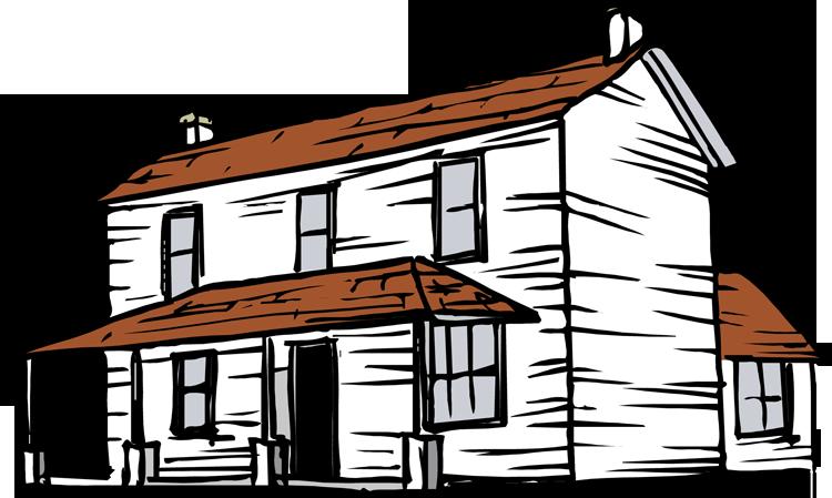 farmhouse clipart-farmhouse clipart-0
