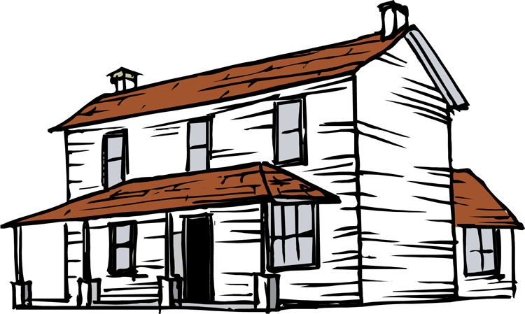 farmhouse clipart-farmhouse clipart-0