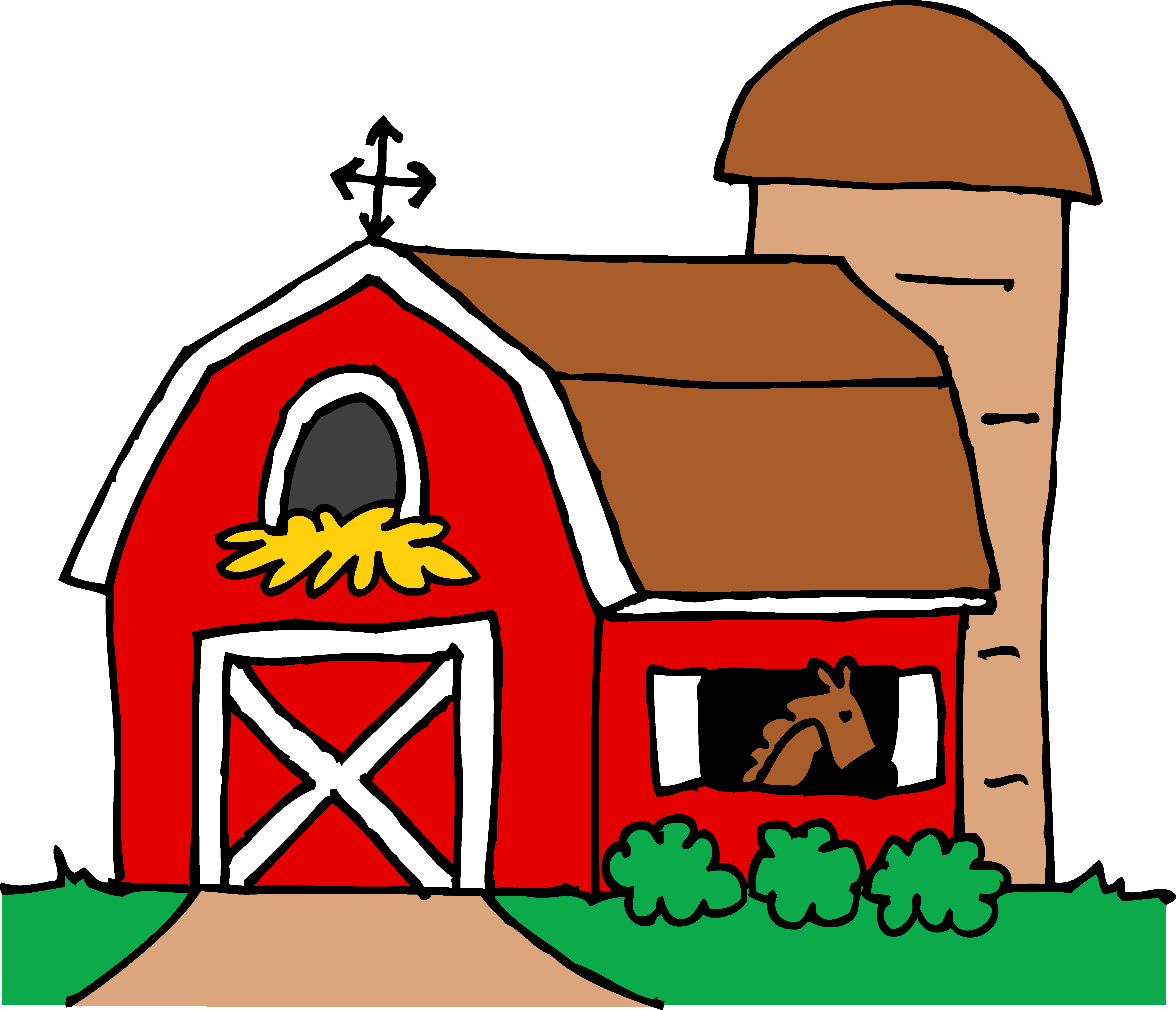 Farmhouse Clipart - Free Clipart Images -Farmhouse Clipart - Free Clipart Images .-11