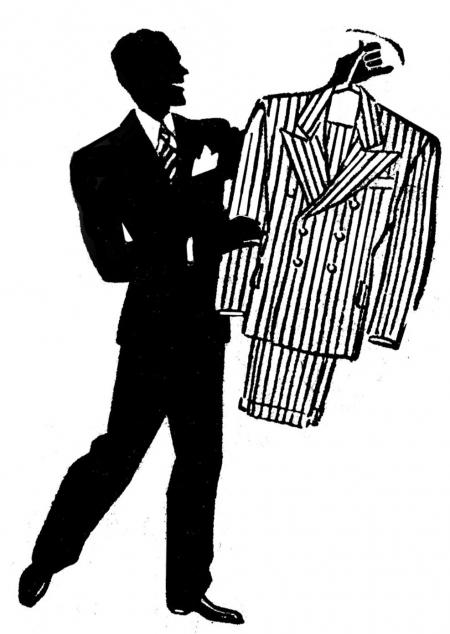 Fashion men clipart