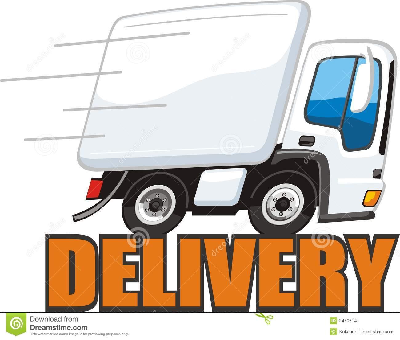 fast truck clipart