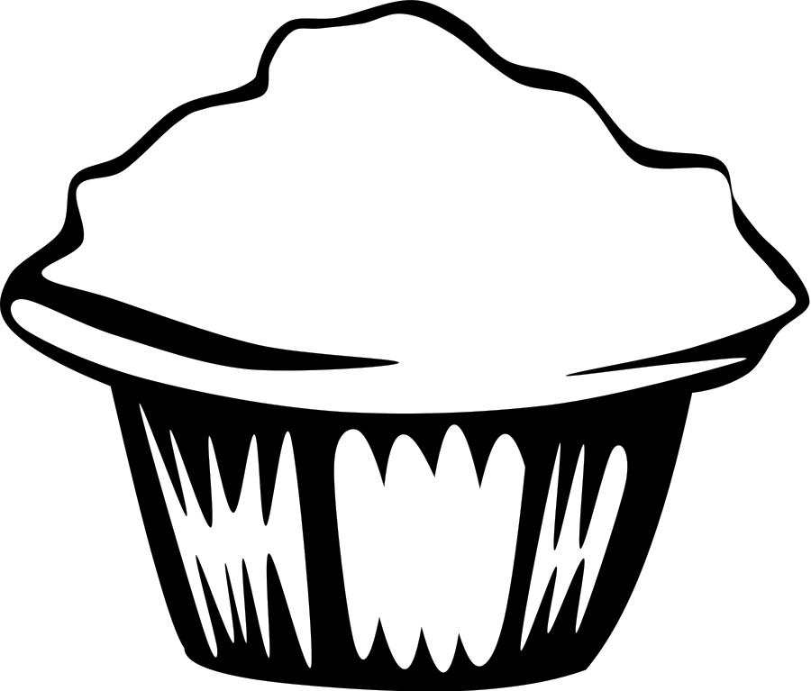 Fast Food Breakfast Muffin Clipart