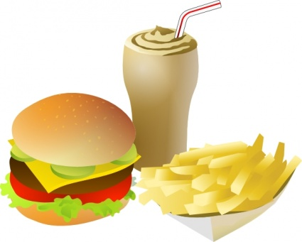 Fast Food Clip Art - Clipart library