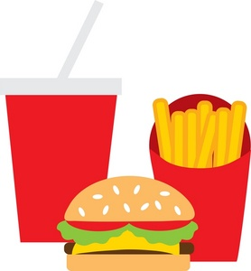 Fast Food Clip Art Images Fast Food Stock Photos Clipart Fast Food