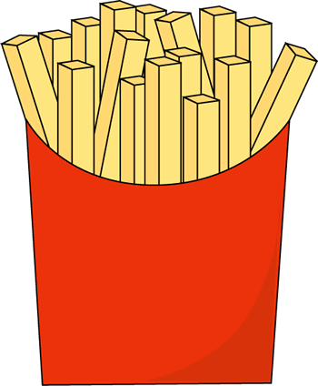 Fast Food French Fries Clip .