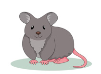 Fat Looking Mouse Clipart Size: 65 Kb-Fat Looking Mouse Clipart Size: 65 Kb-7