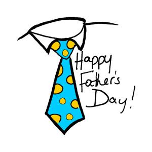 Fatheru0026#39;s Day Tie Clip - Father Day Clip Art