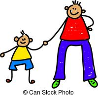 ... Father And Son - Happy Little Boy Ho-... father and son - happy little boy holding his fathers hand ...-10