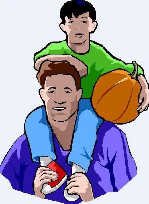 Father Clipart Picture Of Father And Son-Father Clipart Picture Of Father And Son With-10