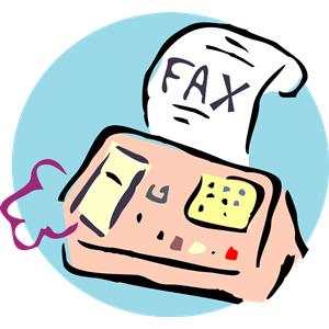 fax clipart-fax clipart-10